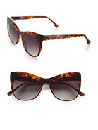 Lafayette Cat's-Eye Sunglasses