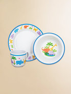 Jungle Parade 3-Pc. Baby Dinnerware Set