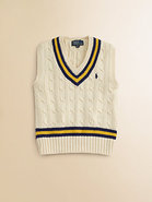 Toddler's & Little Boy's Cricket Sweater Vest