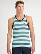 Striped Cotton Tank
