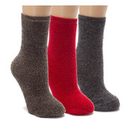 Cozy Again Assorted 3-pk - Women's - Socks - Multi