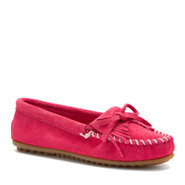 Kilty Suede Moc - Women's - Shoes - Pink