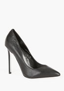 - Sarah Classic Leather Pump - Blk - 9