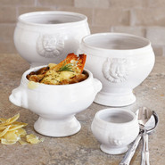 Lion's Head Porcelain Bowl, 34-oz., 34 oz.