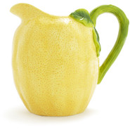 Ceramic Lemon Pitcher, 60 oz.