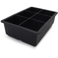 King Cube Ice Tray, Black