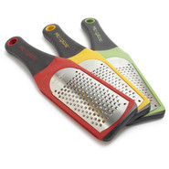 Soft-Handle Coarse Grater, Red