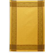 Gold Oslo Jacquard Kitchen Towel