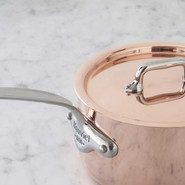 M'heritage 150s Copper&Stainless Steel Saucepan, 0