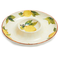 Lemon Collection Chip and Dip Platter