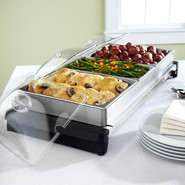Stainless Steel Electric Buffet Server, Family Siz