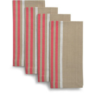 Peony Coastal Napkins, Set of 4