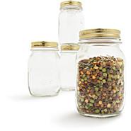 Rocco Quattro Stagioni Jars 4-Piece Set, .25 l