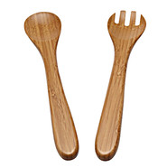 Bamboo Salad Servers, Set of 2