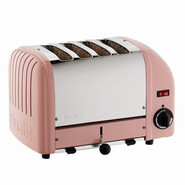 Pink Four-Slice Toaster