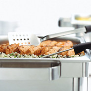 Perforated Buffet Turner