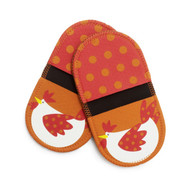 Rooster Mini Grip Potholders, Set of 2