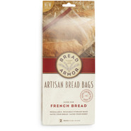 Artisan French Loaf Bread Bags, Set of Two