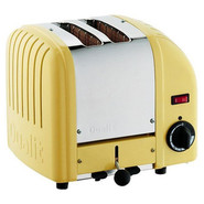 Yellow Two-Slice Toaster