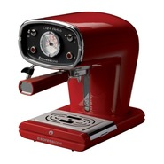 Red Cafe Retro Espresso Machine