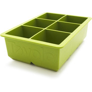 King Cube Ice Tray, Green