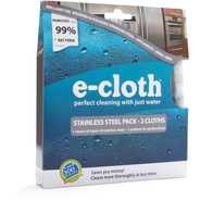 E-Cloth Stainless Steel Pack, Set of Two