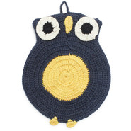 Owl Crochet Potholder