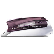 Burgundy Compact Steam Iron