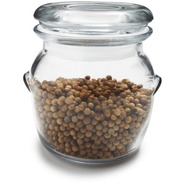 Round Glass Spice Jar