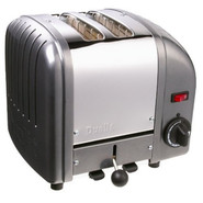 Charcoal Two-Slice Toaster