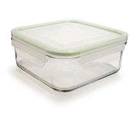 Go Green GlassLock Food Storage, Rectangle, 64 oz.