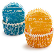 New York City Bake Cups, Set of 48