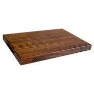 . Walnut Edge-Grain Cutting Board, 18  x 12  x 1 1