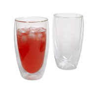 Pavina Double-Walled Insulated Glassware, 15 oz.