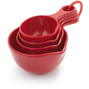 Red Measuring Cup Set