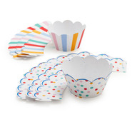 Toot Sweet Cupcake Wraps, Set of 24