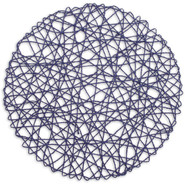 Sea-Blue Round Rope Placemat