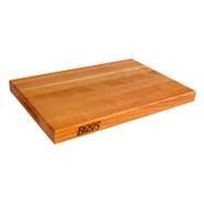 . Cherry Edge-Grain Cutting Board, 18  x 12  x 1 1