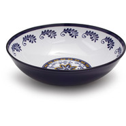 Chef Tim Love Flor Azul Serving Bowl