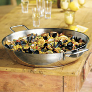 Stainless Paella Pan, 14.8qt.