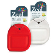 Zeal Silicone Bowl Scraper, Red
