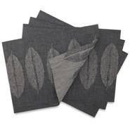 Steel Leaf Jacquard Placemat