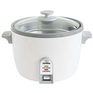 Nonstick Electric Rice Cooker, 6 cup