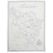 Blue Jacquard Kitchen Towel, 20??  x 30