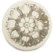 Cake Vintage Assorted Rosette Coasters