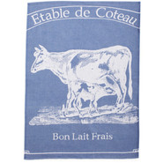 French Milk Cow Kitchen Towel, 26  L x 19