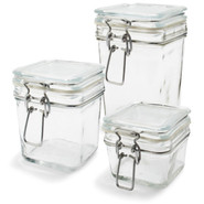 Square Canning Jar, 18oz., 18 oz.