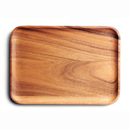Wood Rectangular Serving Platter