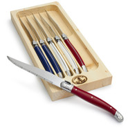 Laguiole Paris Steak Knives, Set of 6