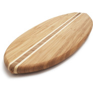 Tropical Surfboard Cutting Board